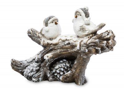 Figurka świąteczna ptaszki na gałęzi